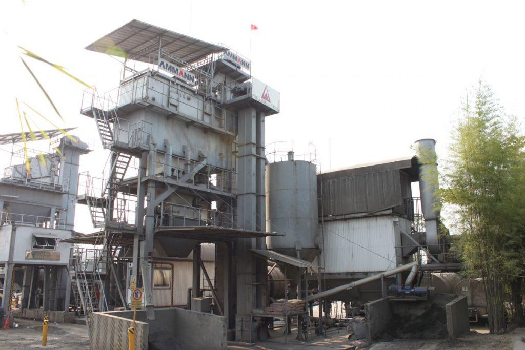 Indonesian PT Pyramida Raya Persada relies on quality Ammann Asphalt Plant