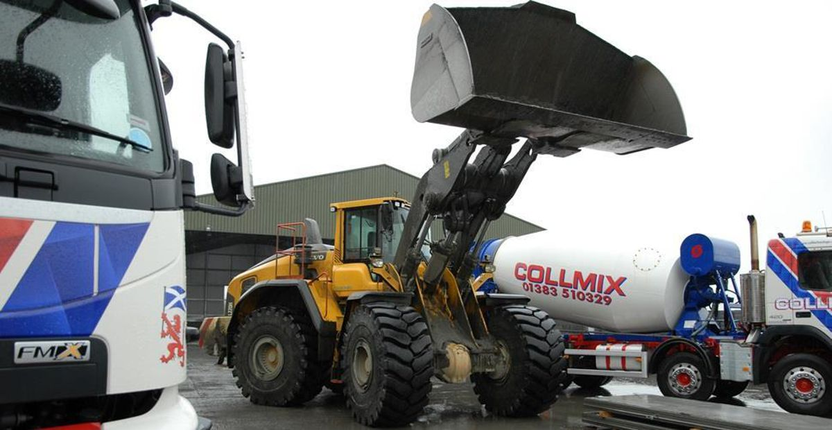 Three's not necessarily a crowd at Collier Quarrying & Recycling