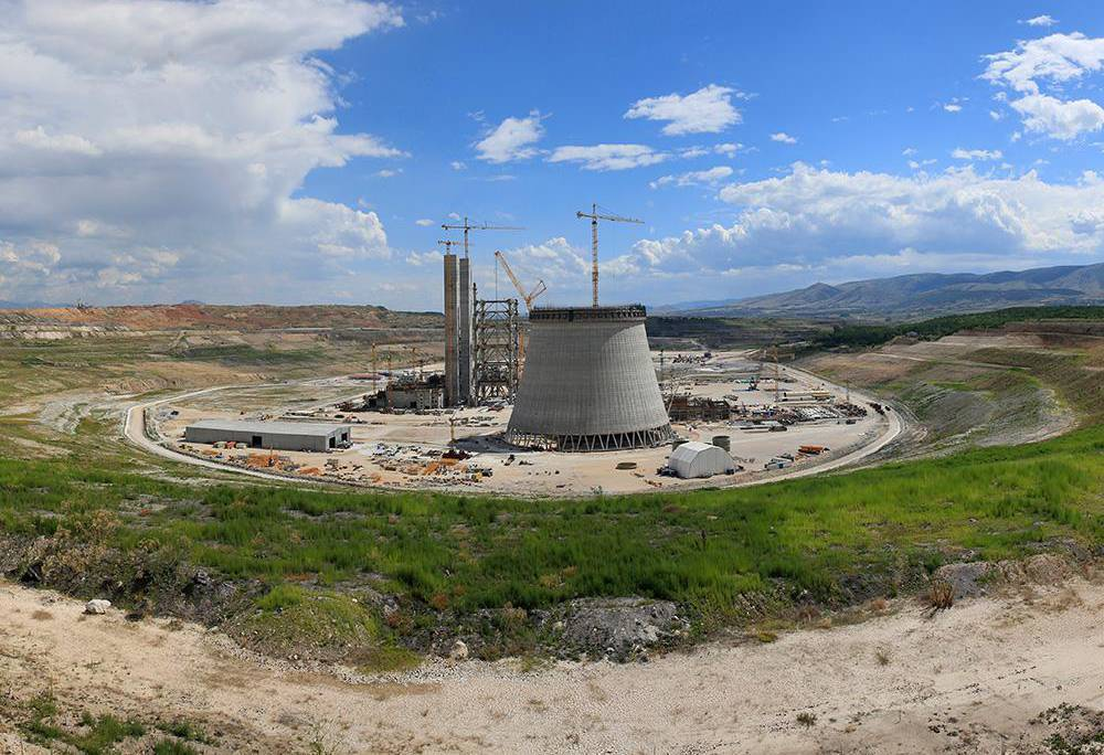 Super stable, earthquake resistant formwork design for the tallest cooling tower in Greece