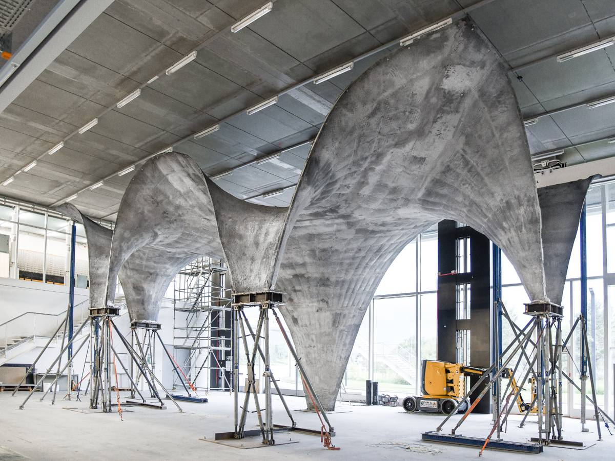 Eth Zurich invents technique for making an ultra-thin concrete roof