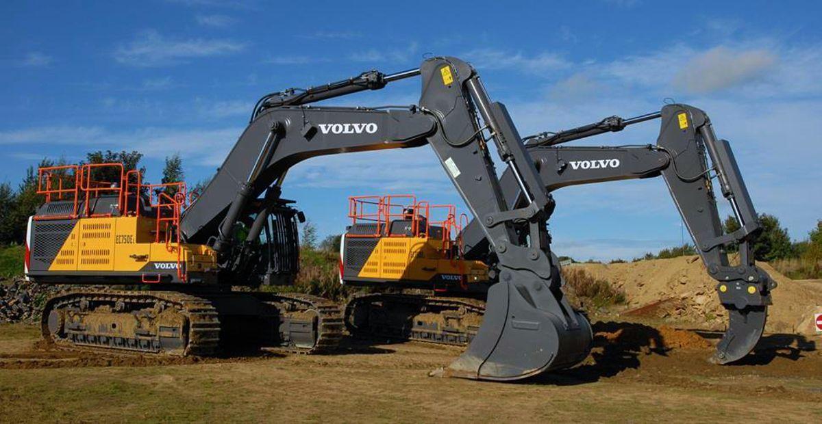 Johnsons Wellfield in Yorkshire calls on Volvo Excavators to mine Yorkstone