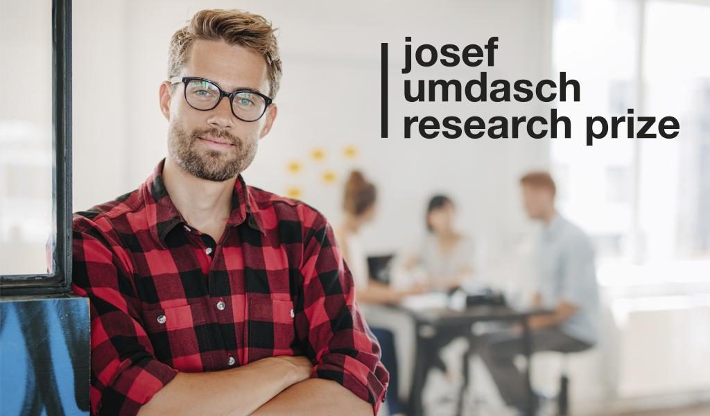 The Josef Umdasch Research Prize 2018 is looking for start-ups with new tech ideas