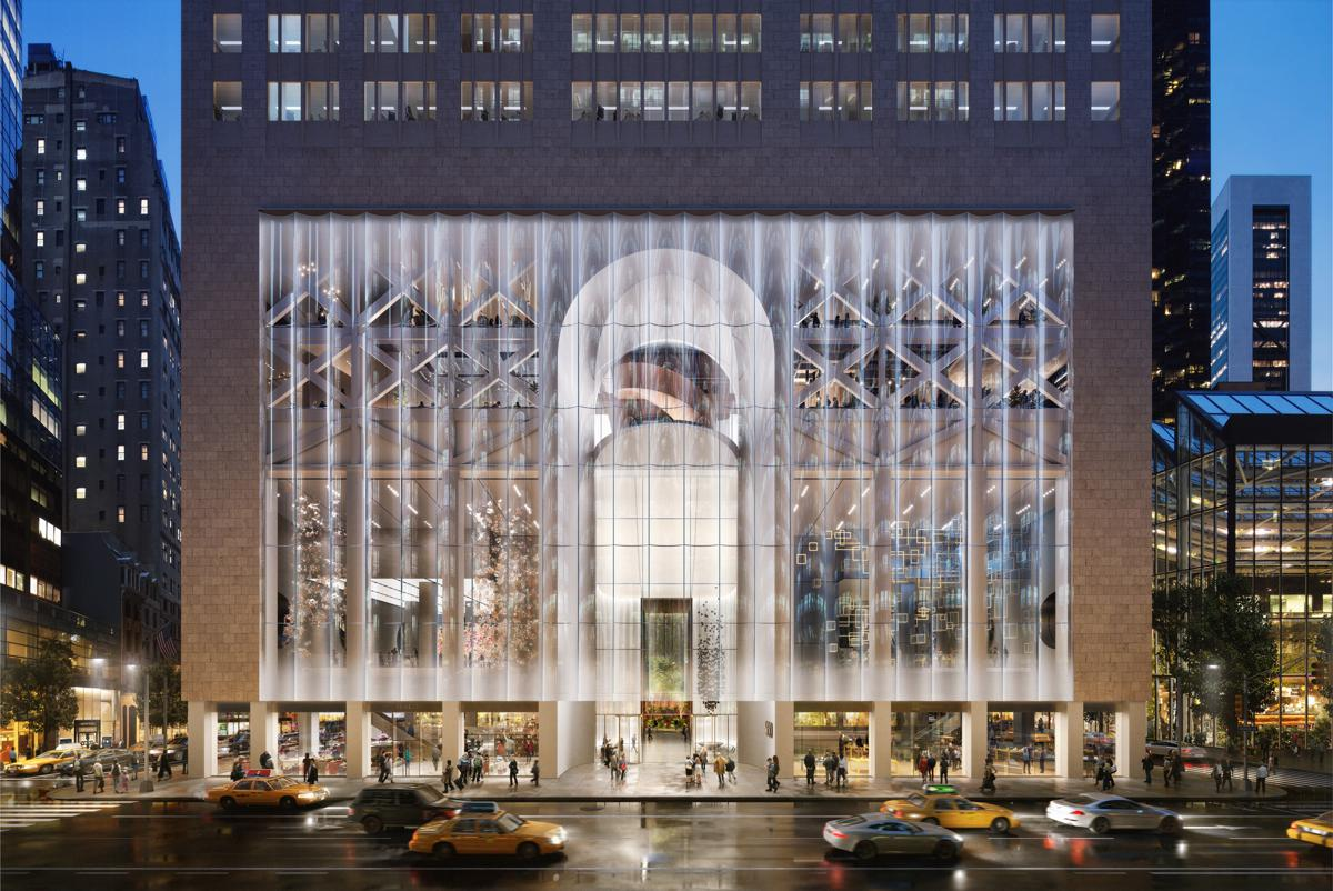 Snøhetta reimagines 550 Madison in New York