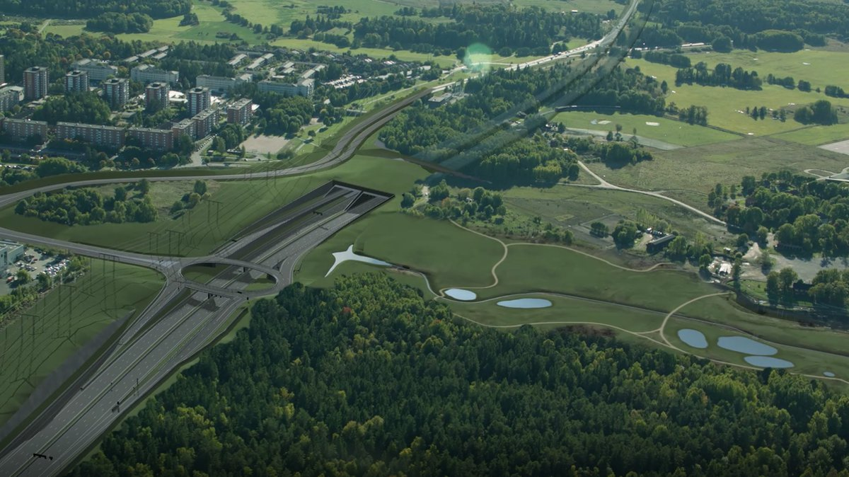 STRABAG to build further Akalla tunnel section for the Stockholm motorway ring