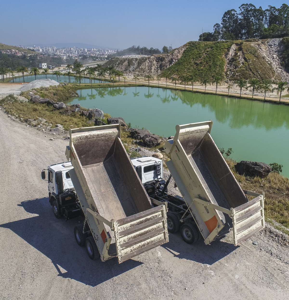 Julio and Julio in Brazil reduce quarry operating costs with Metso Haul Truck Solution