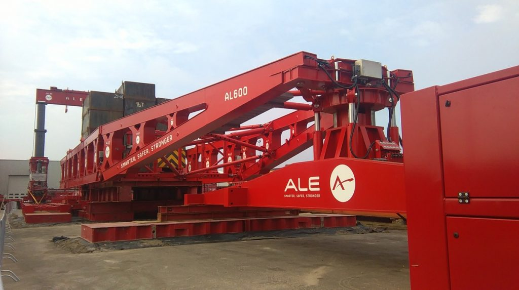 ALE build  new 600 tonne high capacity girder frame
