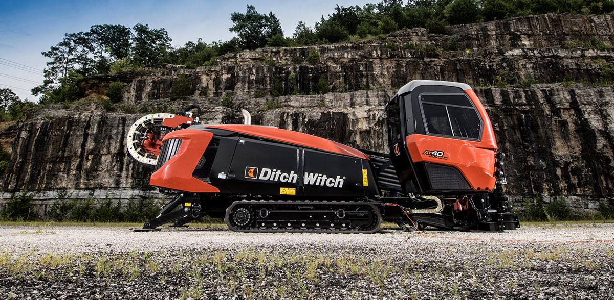 Ditch Witch AT40 all-terrain directional drill makes light work of Hard Rock