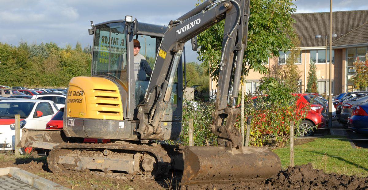 Volvo Excavators prove their worth in Scotland