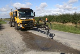 Bituchem's Airpatch perfect solution for potholes and surface deformations