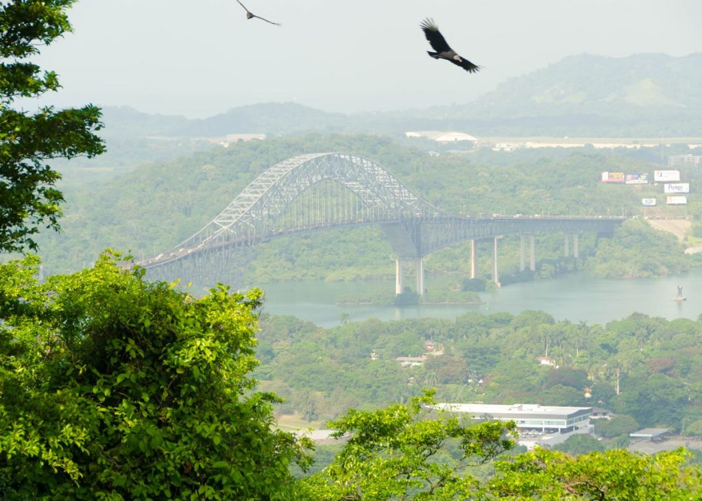 Bridge of the Americas in Panama - Photo by Keith Yahl