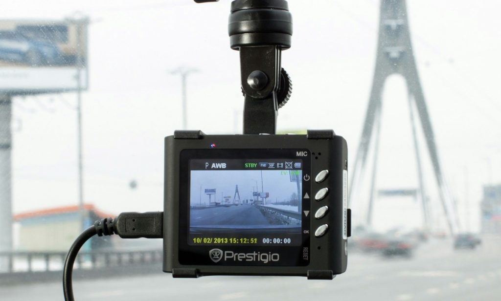 Dash cam - Photo by Paul Townsend