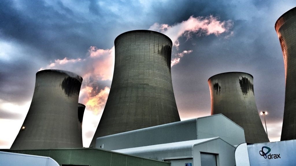 Drax Power Station Cooling Towers - Photo by Michael Joakes