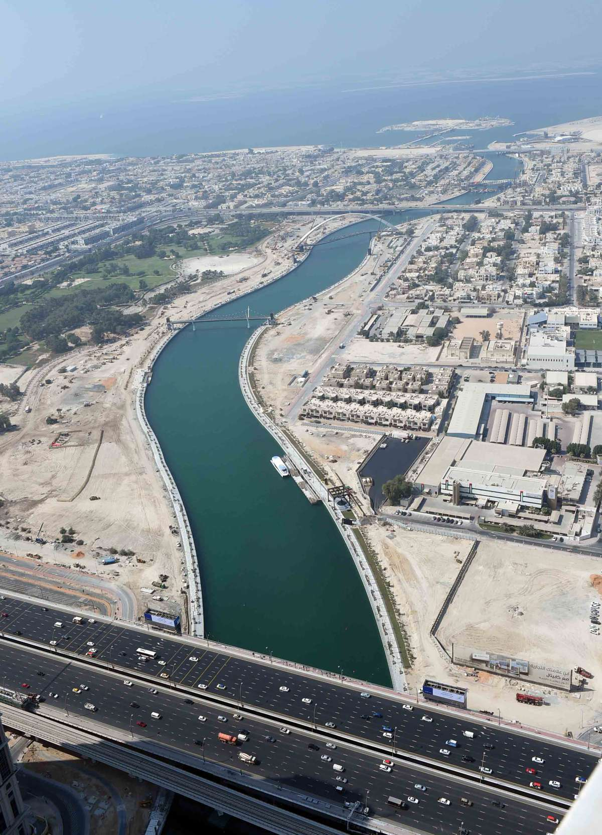 Dubai Water Canal project wins IRFs Global Roads Achievement Award