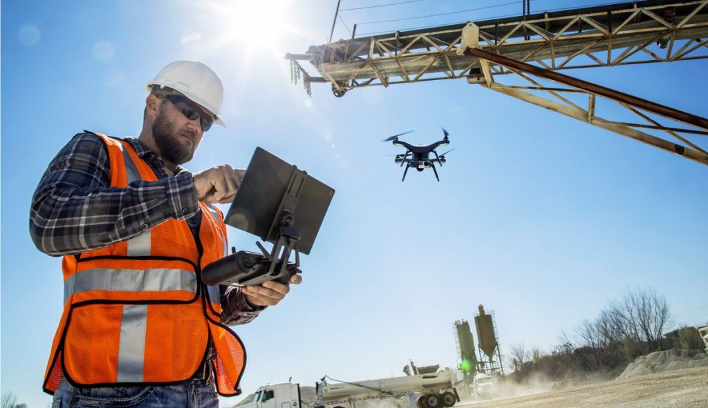The construction industry has woken up to the potential of drones.