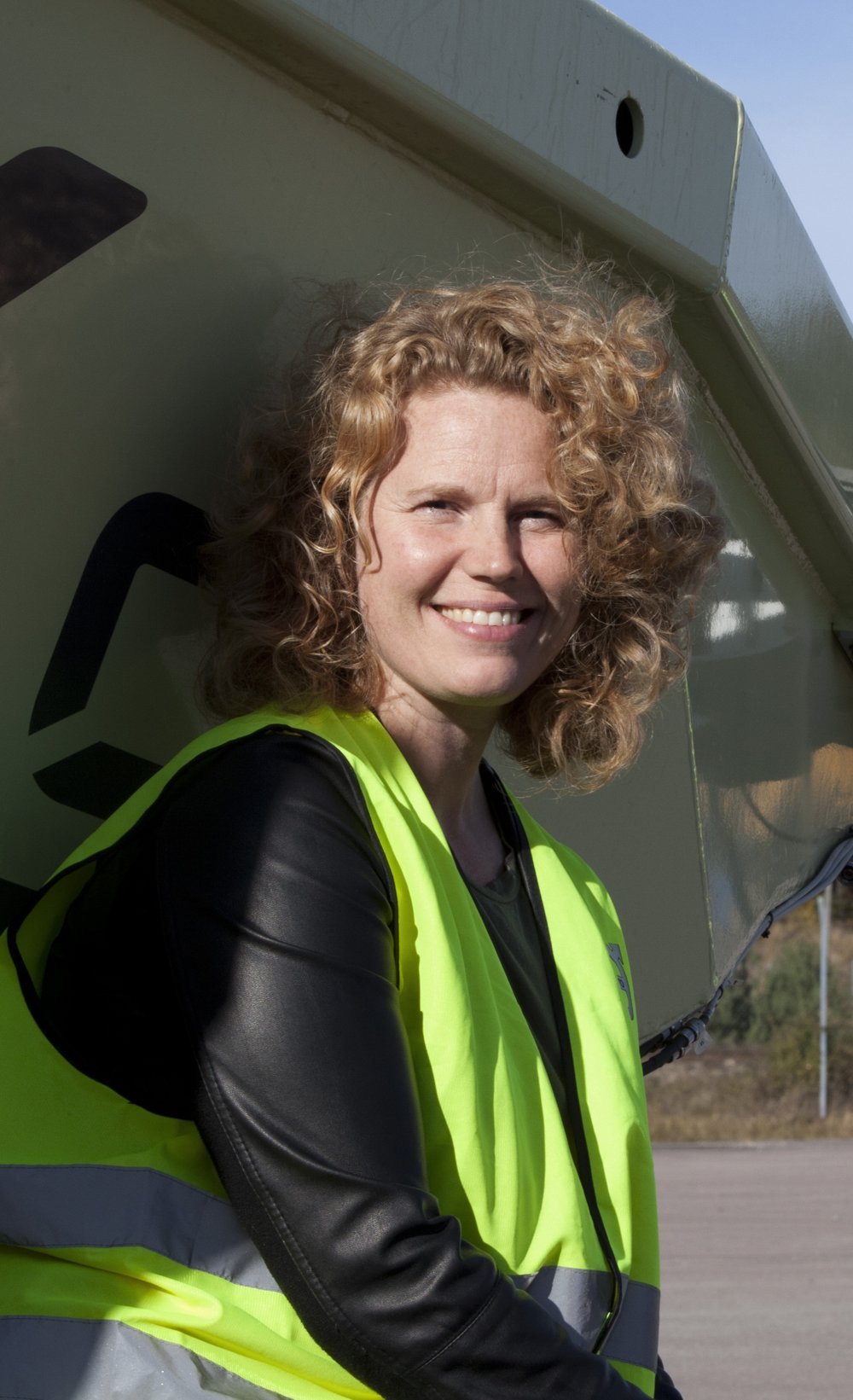 Jenny Elfsberg, director of emerging technologies at Volvo CE.