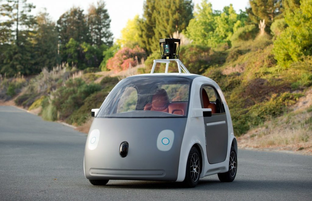 Google Self-driving car- Photo by SmoothGroover22