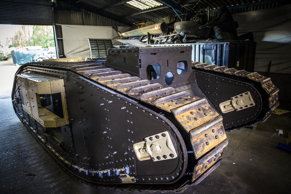 Guy Martin's WW1 Tank