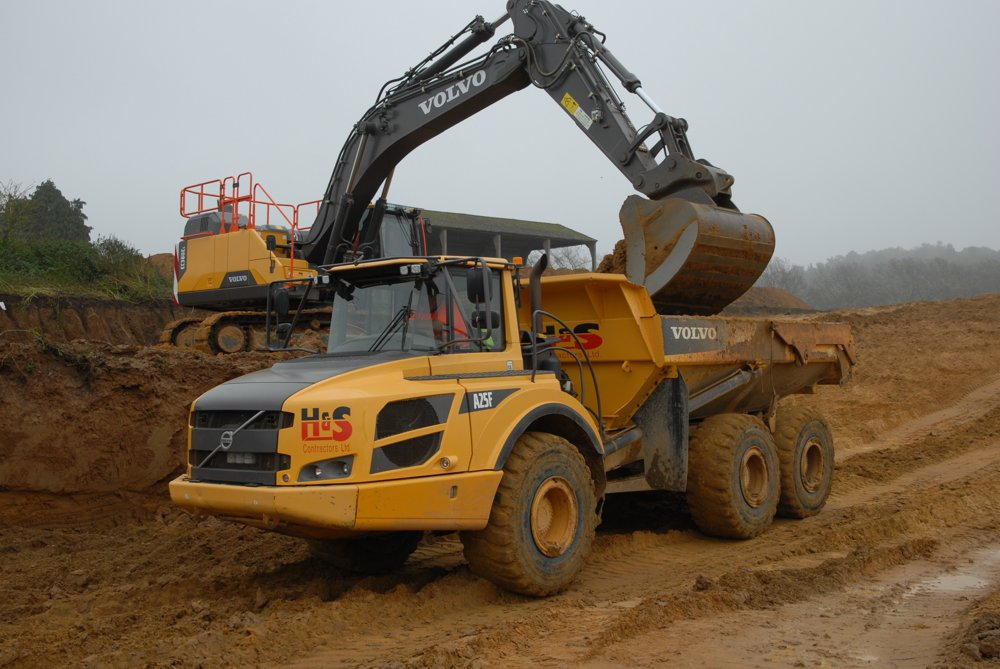 40-tonne Volvo Excavators find favour at H and S Contractors