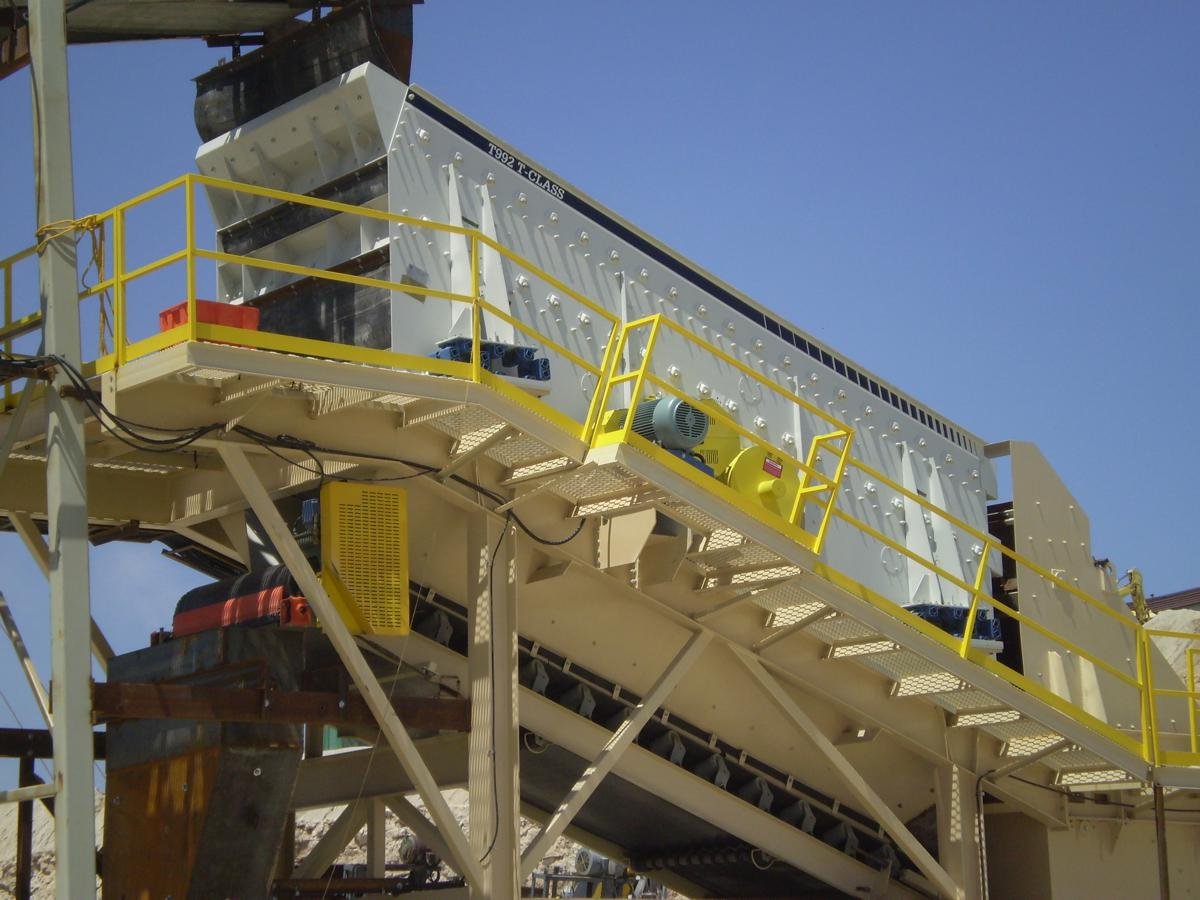 Haver and Boecker offers customised Tyler T-Class Vibrating Screen