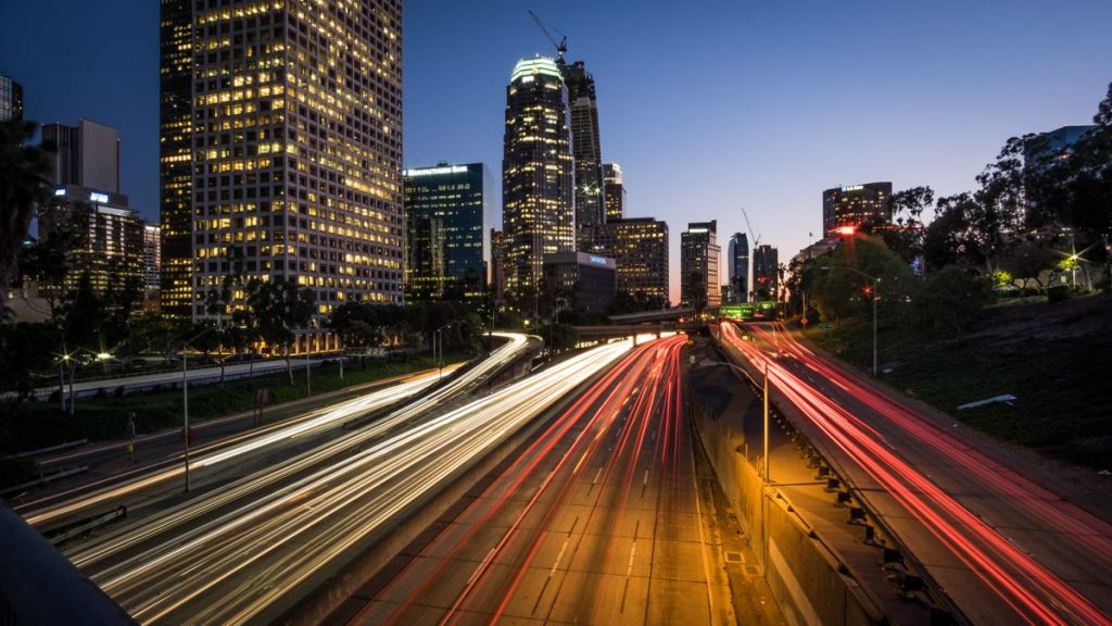 Highway 110 Los Angeles - Photo by Hiuseppe Milo