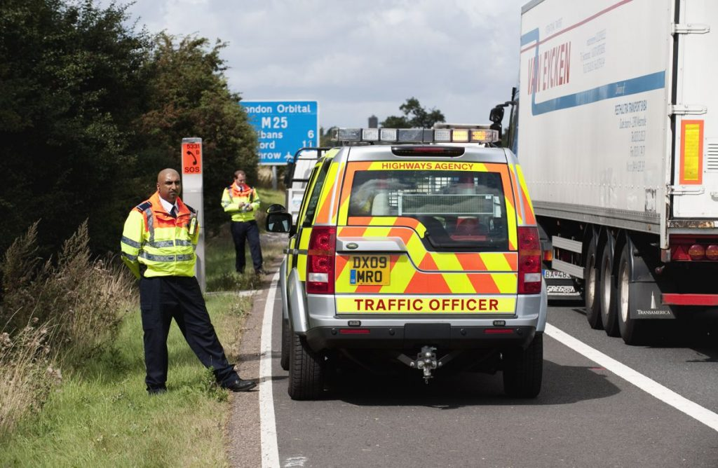 Highways England Traffic Officers - Photo by Highways England