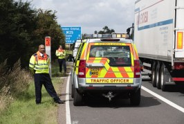 Life-saving training for Highways England Traffic Officers