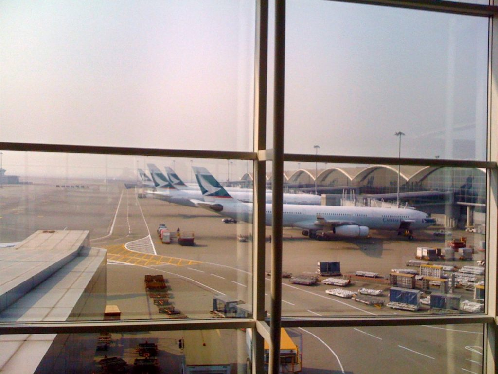 Hong Kong Airport - Photo by Kidd99