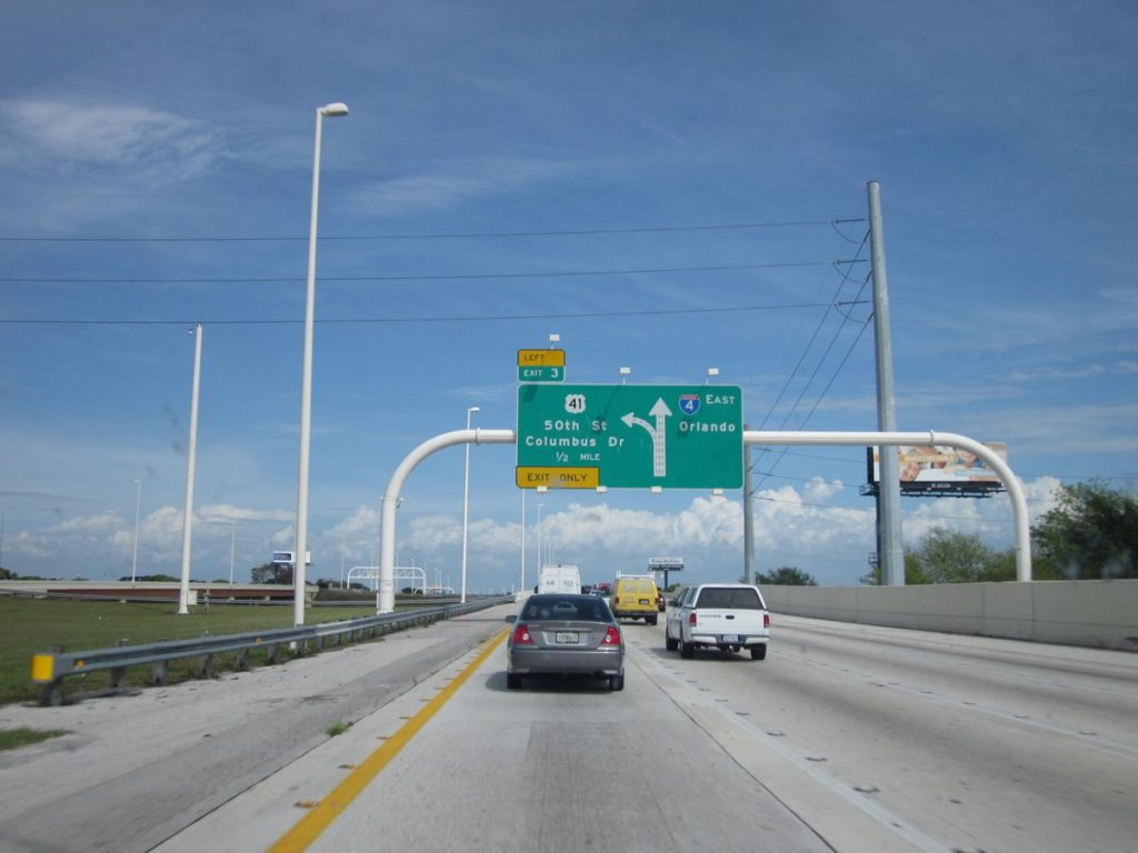 Interstate 4 Florida - Photo by Doug Kerr