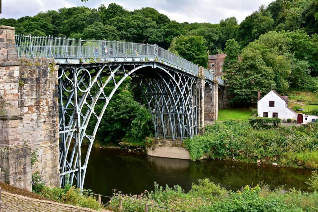 Ironbridge in Telford Wrekin Borough - Photo by Martin Pettitt