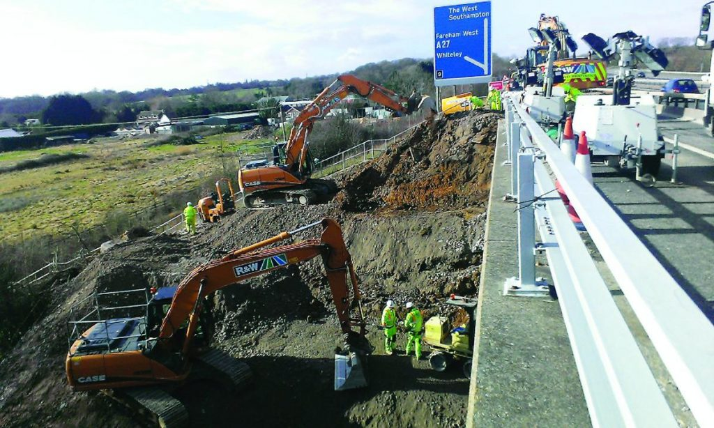 R&W Civil Engineering wins share of £100m M25 Motorway Works