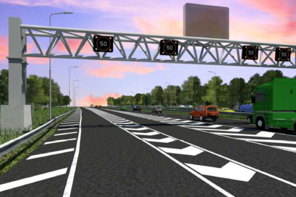 Testing starts for innovative M62 Motorway trial in Warrington, UK