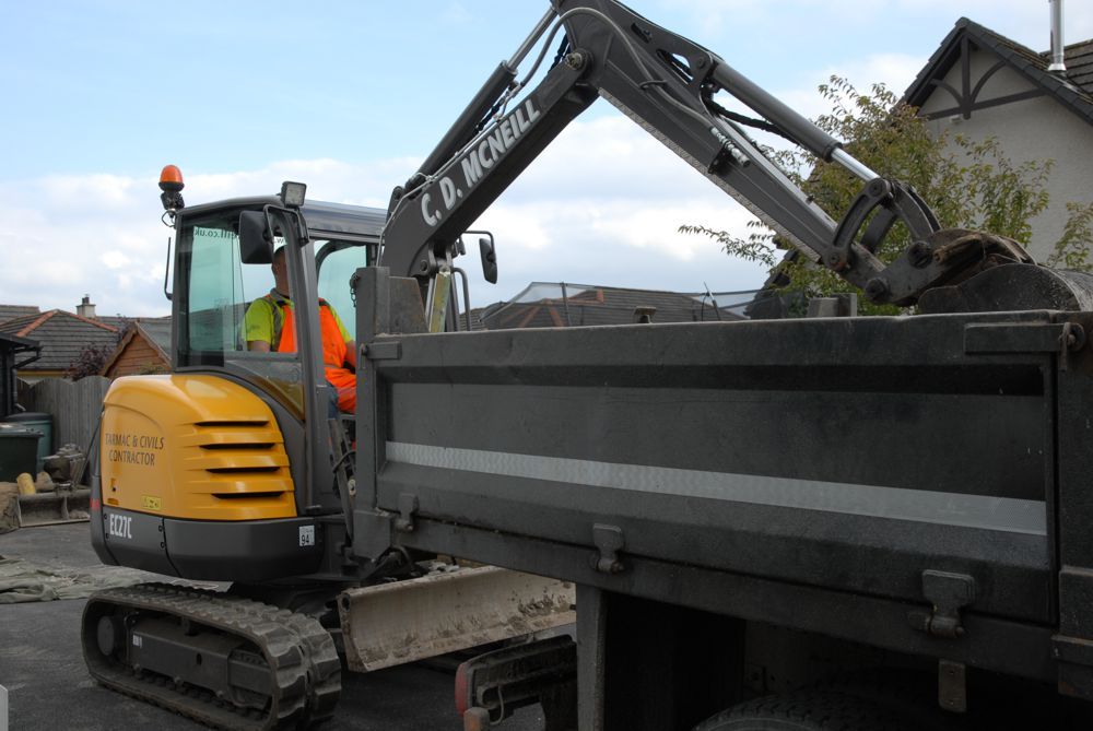 C D McNeill of Dingwall, Ross-shire has purchased a fourth EC27C for its contracting business.