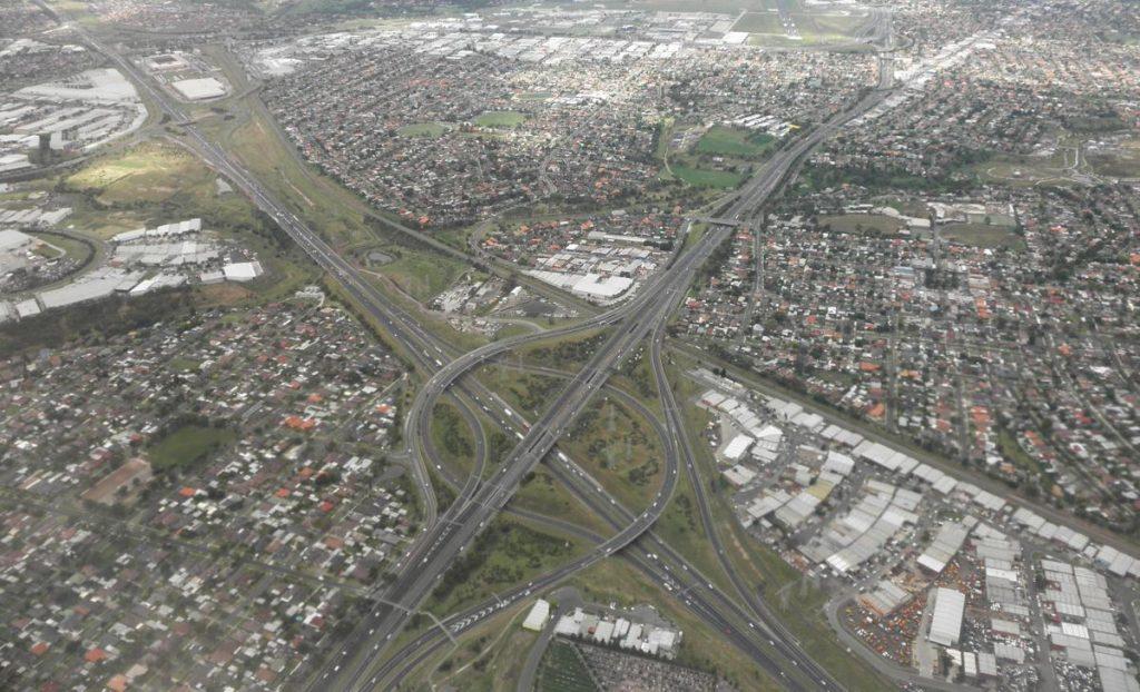 Melbourne Interchange - Photo by Jason Thien