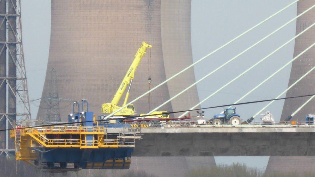 Mersey Gateway Bridge Under Construction - Photo by Dawn Imagination Stables II