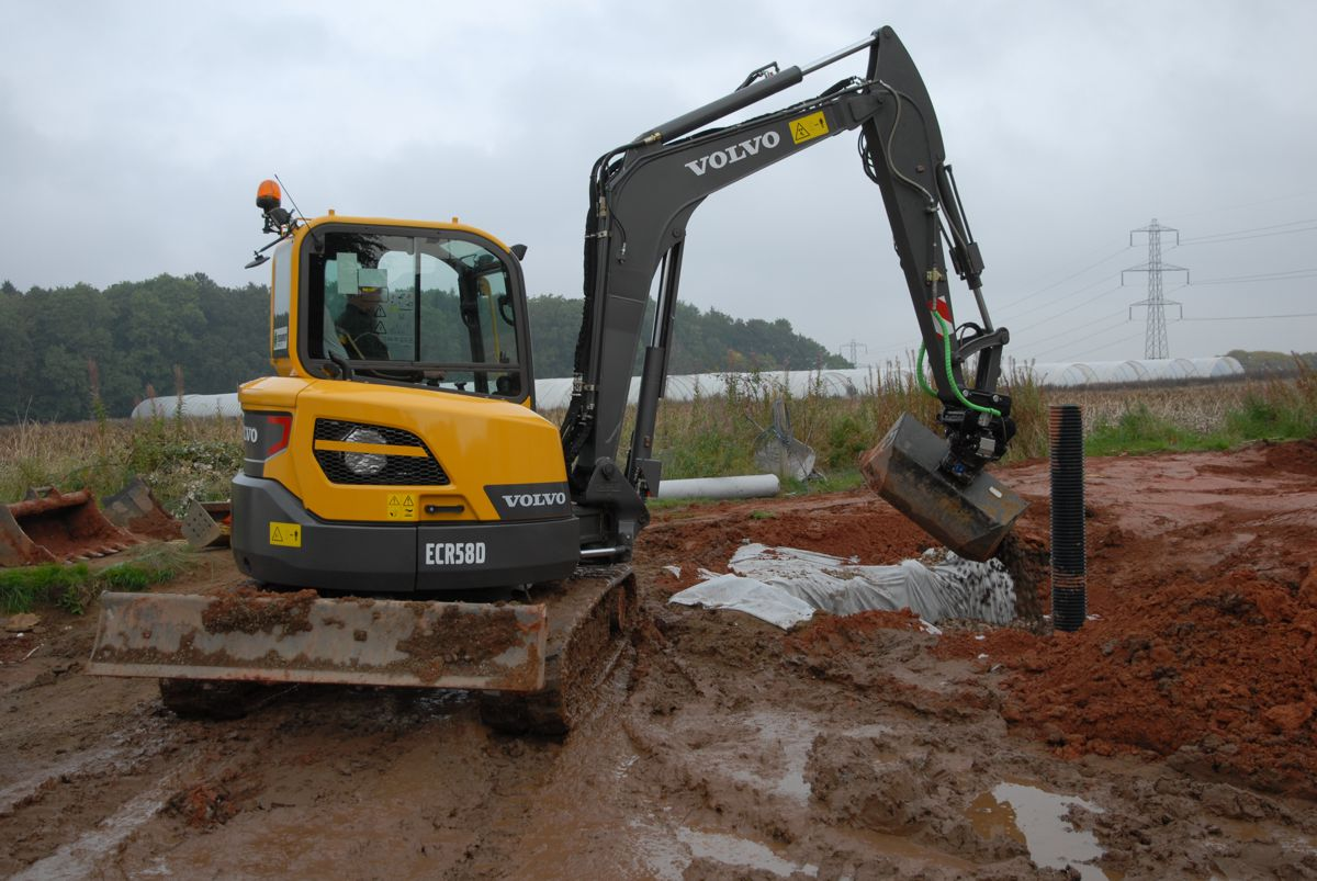 First time Volvo for Mike Taylor Plant Hire