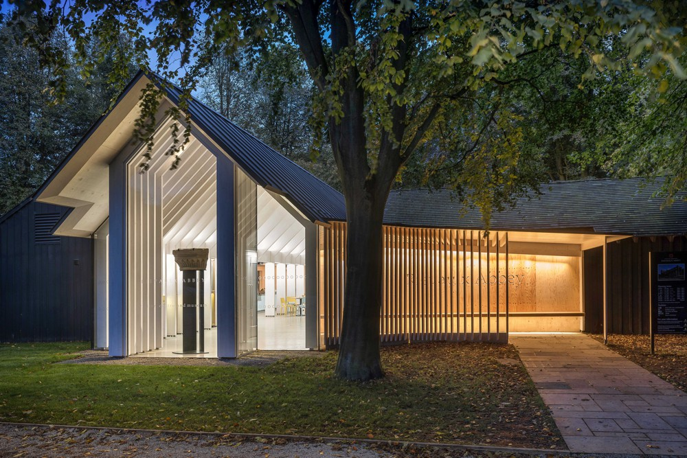 The judges selected Rievaulx Abbey Visitor Centre & Museum as the Commercial & Leisure winner as it does something highly unusual – it creates an abstract, numinous space using timber as an expressed structure.