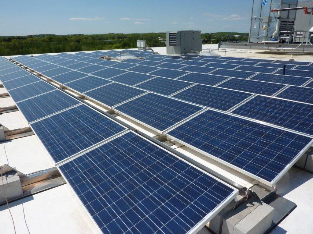 Roof Solar Panels - Photo by Cummings Properties