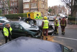 Road collisions account for 20% of hospital trauma admissions in the UK