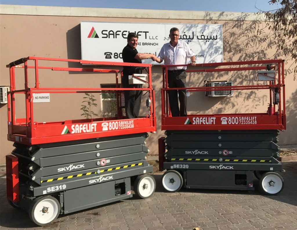 Skyjack partners with a new supplier in the UAE