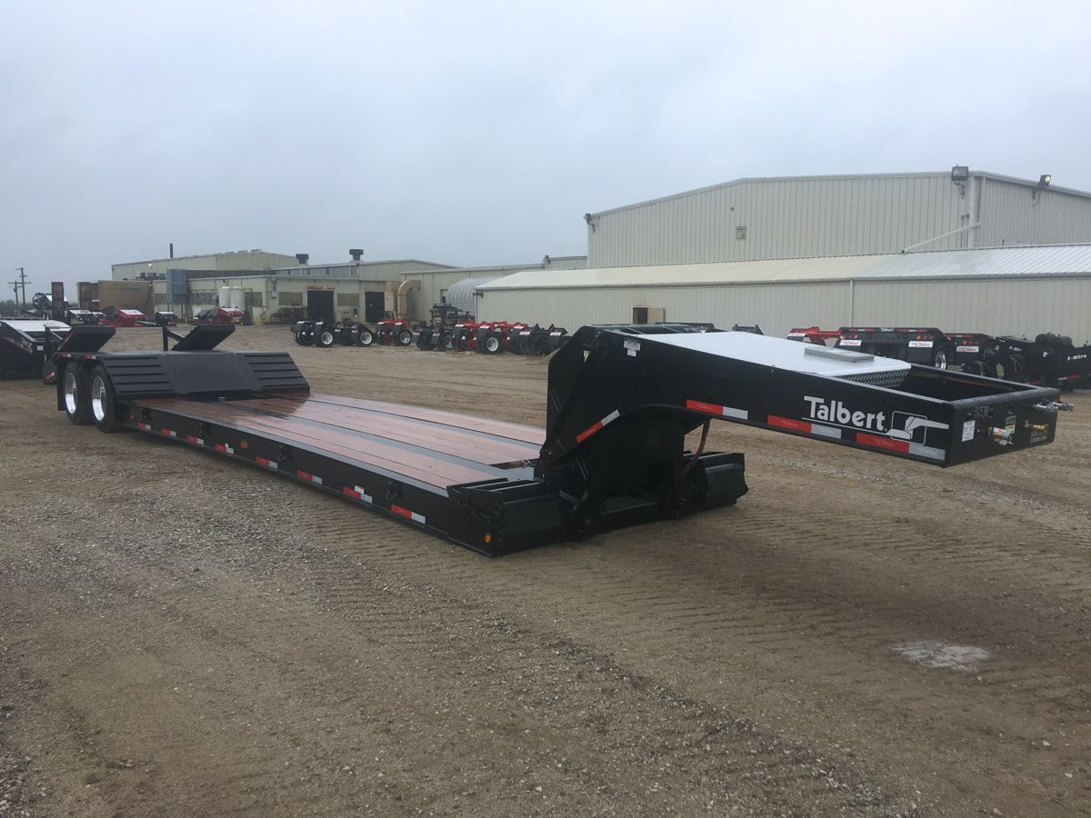 Talbert 35 tonne Close-Couple Low-bed Trailer delivers day to day dependability