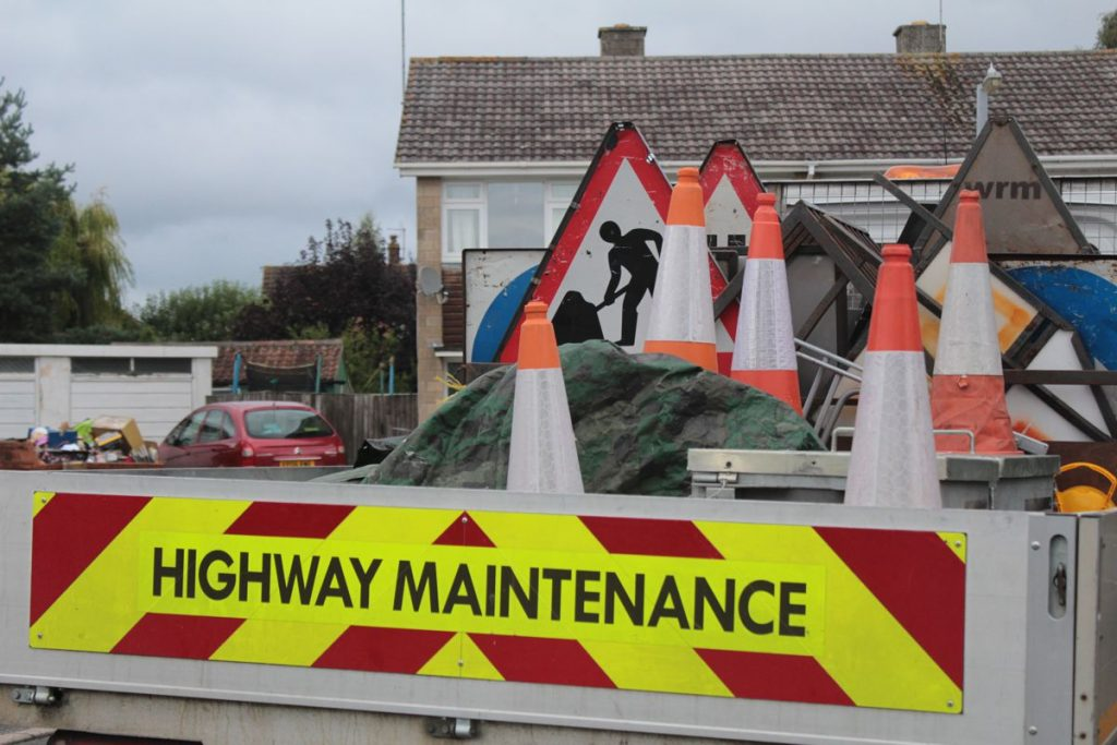 Trowbridge Highways Maintenance Truck - Photo by Sarah Joy