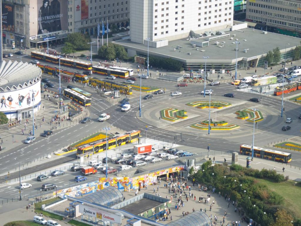 Warsaw Roundabout - Photo by Dave Collier