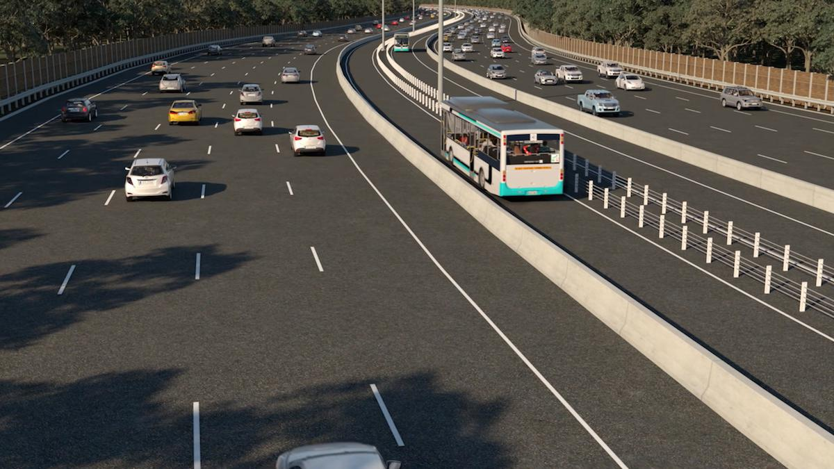 Melbourne gets first dedicated, high-speed Busway Lane