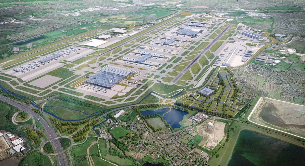 Heathrow expansion takes next step towards building a construction legacy across the UK