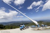 Trio of Liebherr mobile cranes scales mountains to erect wind turbines