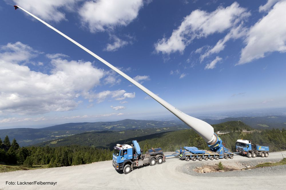Trio of Liebherr mobile cranes scales mountains