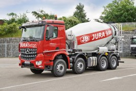 50 years of concrete truck mixers from Liebherr