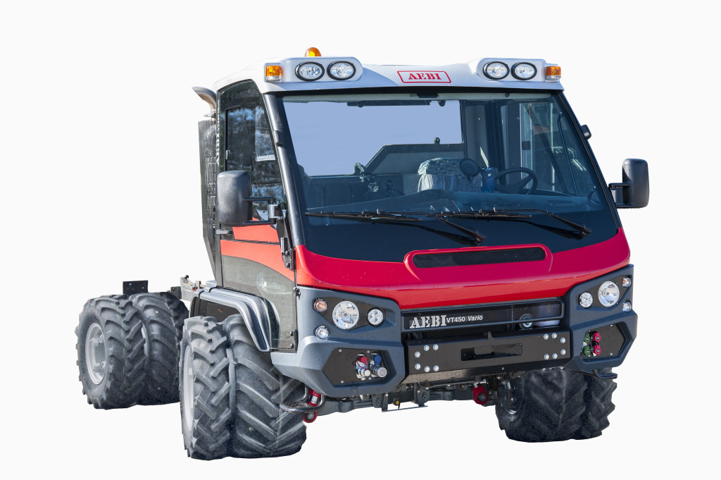 Aebi unveils Transporter innovation at Agritechnica