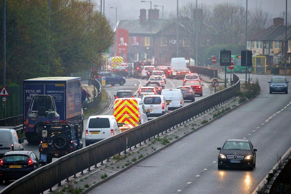 The existing route is often heavily congested with vehicle numbers increasing