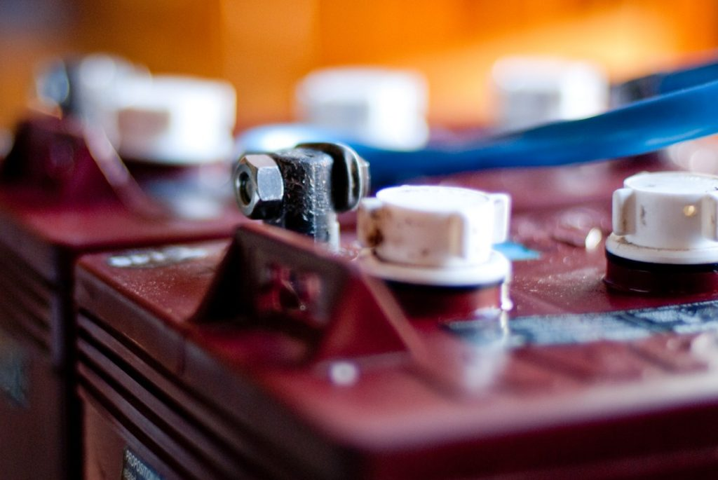 Batteries - Photo by Ben Chun
